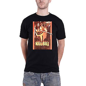 Kill Bill T Shirt Sword Movie Logo new Official Mens Black