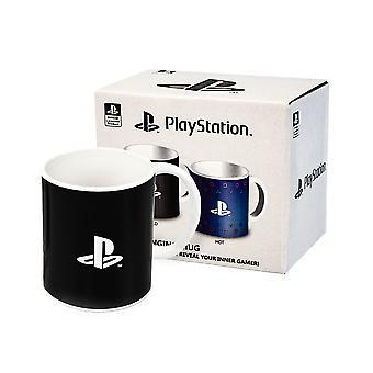PlayStation Muki Gaming Heat Changing 11oz Cup lapsille ja aikuisille