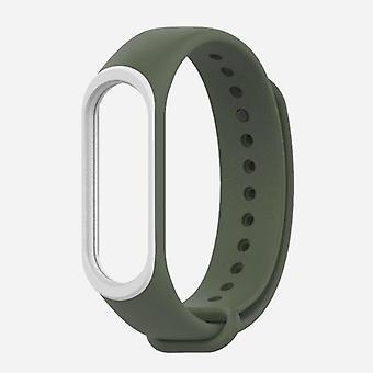 Silicone Strap Wrist Bracelet For Xiaomi Mi Band 3 Replacement