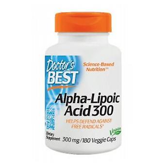 Doctors Best Alpha-Lipoic Acid, 300 mg, 180 Vegi Caps