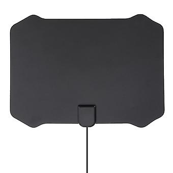 Flat Digital Indoor HDTV HD TV Antenna Fox con amplificatore 50 Miglia Gamma VHF UHF