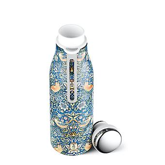 eCoffee William Morris Design Eco Thermal Vacuum Water Drinks Bottle 17oz