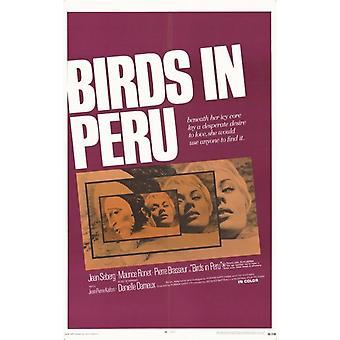 Birds in Peru Movie Poster (11 x 17)