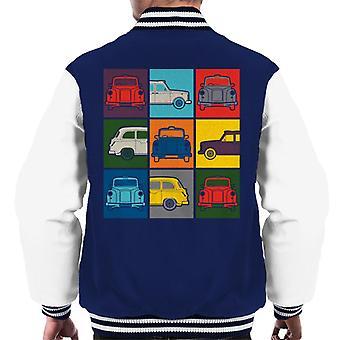 London Taxi Company Colourful Angles Men's Varsity Jacket