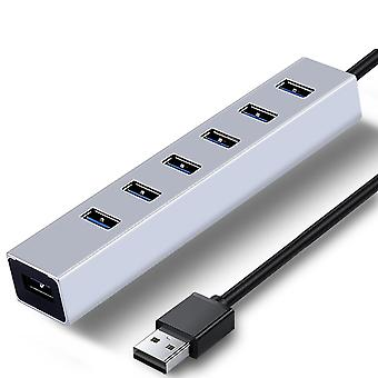 High speed 3.0 hub usb splitter with 4/7 ports for windows and macbook