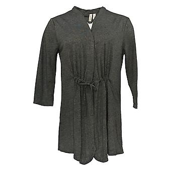 Rhonda Cisaillement Femmes-apos;s Pull Gris Cardigan Polyester 699-669