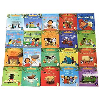 Kids Usborne Picture Books,, Baby, Famous Story, English, Farmyard