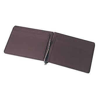 Men Wallet Short Skin Wallets, Purses Pu Leather Money Wallet