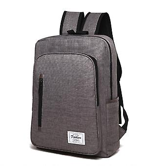 Universal Multi-Function Oxford Cloth Laptop Computer Shoulders Bag Business Backpack Students Bag, Size: 43x29x11cm, For 15.6 inch and Below Macbook,