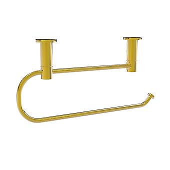 Fresno Collection Under Cabinet Paper Towel Holder - Polished Brass