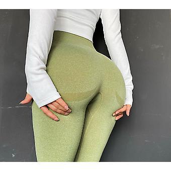 Kvinnor Fitness - Hög midja Squat Proof Workout Yoga Byxor