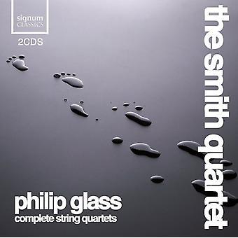Smith Quartet - Philip Glass: Complete String Quartets [CD] USA import