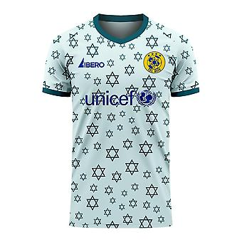Maccabi Tel Aviv 2020-2021 Away Concept Football Kit (Libero) - Adult Long Sleeve