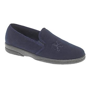 Sleepers Mens Frazer Synthetic Suede Slippers