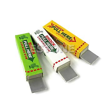 Safety Trick Joke, Shoker Toy, Electric Shock, Shocking Pull Head Chewing Gum