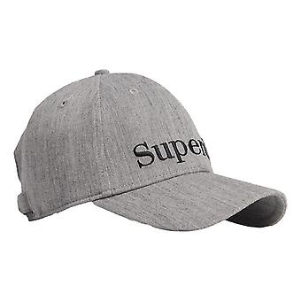 Superdry Embroidery Cap - Grey Marl