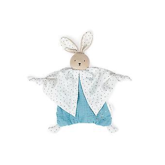 Kaloo organic cotton doudou rabbit blue