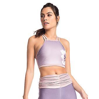 Lilac Sublimated Street Sport Bra