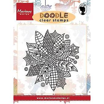 Marianne Design Stamp Doodle - Poinsettia Ews22222
