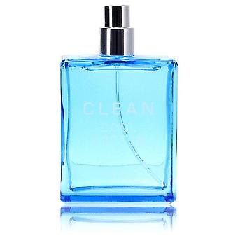 Clean Cool Cotton Eau De Toilette Spray (Tester) By Clean 2 oz Eau De Toilette Spray
