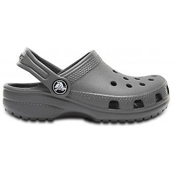 Crocs 204536 Classic Kids Clogs Pizarra Gris