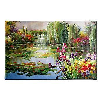 Bild Bunte Autor Inspirationen in Polyester, Holz, L45xP3xA70 cm