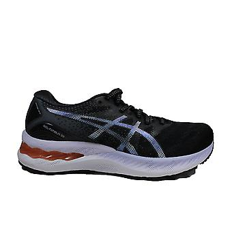 Asics Gel-Nimbus 23 Black/Charcoal Grey Mesh Womens Running Trainers
