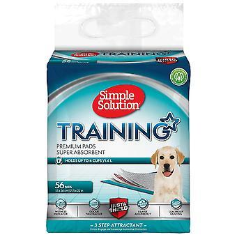 Simple Solution Premium Puppy Training Pads (Pacote de 56)