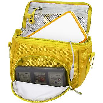 Orzly travel bag for nintendo ds consoles (new 2ds xl / 3ds / 3ds xl/new 3ds / new 3ds xl/original d wof09353
