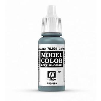 Vallejo Modèle Couleur 17ml Peinture acrylique - 904 Gris Bleu Foncé