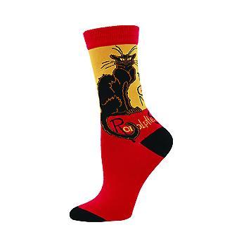 Socksmith Womens/Ladies Le Chat Noir Socks
