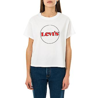 Camiseta femenina levi's graphic varsity tee 69973-0153