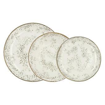 Tableware Churchill (18 pcs) Beige China crockery