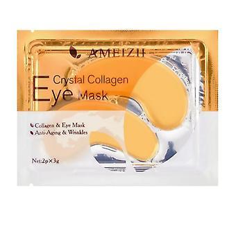 Gold Crystal Collagen Eye Mask For Dark Circles Remove Anti-aging Wrinkle Skin