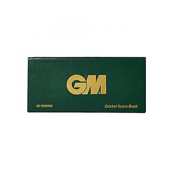 Gunn & Moore GM Tilbehør 60 Innings Runde Scorebook Game Analyse