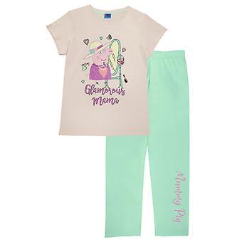 Peppa Pig Womens/Ladies Mummy Pig Pyjama Set