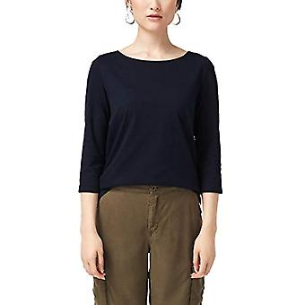 s.Oliver 14.908.39.2774 T-Shirt, Bleu (Navy 5959), 42 (Taille Fabricant: 36) Femme