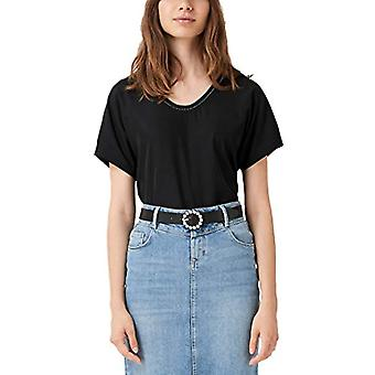 s.Oliver 14.907.32.7585 T-skjorte, Svart (Svart 9999), 42 (Produsent Størrelse: 36) Kvinne