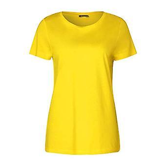 Street One 314796 T-Shirt, Bright Yellow, 44 Woman