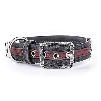 My Family Adjustable Collar in Leather-Like Made in Italy London Collection(4)