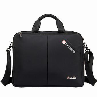 Männer Aktenkoffer tragbare 15,6 Zoll Laptop Tasche Schultertasche