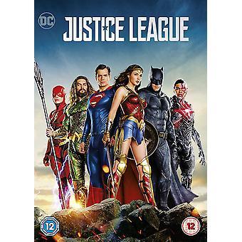 Justice League 2018 DVD