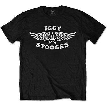 Iggy & The Stooges - Wings Men's Medium T-Shirt - Black
