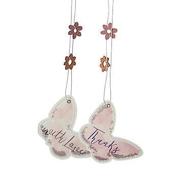 Fabric Glitter Filled Butterflies (One Random Supplied) by Heaven Sends
