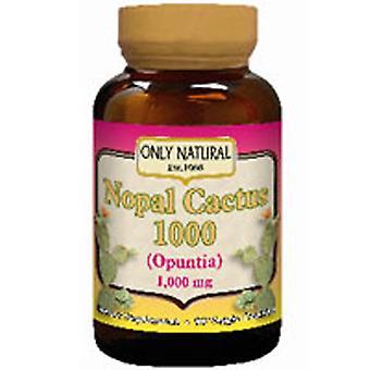 Only Natural Nopal Cactus 1000, 90 VEG CAPS