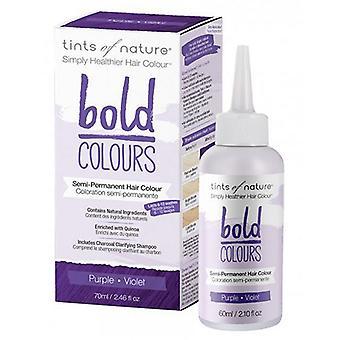 Tints of Nature Semi-Permanent Hair Color, Bold Purple 2.46 Oz
