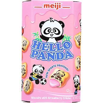 Meiji Cookie Strbry Ahoj Panda, prípad 10 X 2.1 Oz