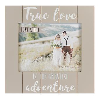 """8""""x 10"""" - Fotoramme til kærlighedshistorie - Ægte kærlighed og eventyr"""