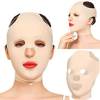 3D Reusable Breathable Beauty Women's Anti-Wrinkle Skin Rejuvenation Slimming Bandage V Shaper Fully Lifting Sleep Mask