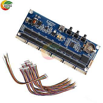 Retro digitaalinen led-kellomoduuli 5v 1a mirco usb diy in14 qs30 in12 digitaalinen putki digitaalinen kellosarja moduulilevy litteällä kaapelilla